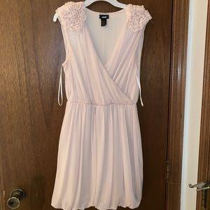 H&M floral sleeve mini dress